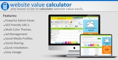 Website Value Calculator
