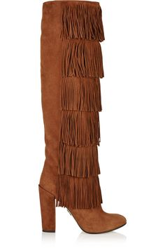 Shop on-sale Paul Andrew Tara fringed suede knee boots. Browse other discount designer Tara fringed suede knee boots & more on The Most Fashionable Fashion Outlet, THE OUTNET.COM