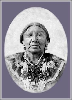 Ponca Chief, Arkansas City, Kansas, 1892. - The Ponca Indians are a tribe that originated in Nebraska, but were later forcibly relocated to Oklahoma.