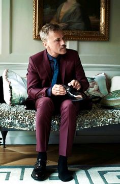 christoph waltz, photoshoot for zoo magazine