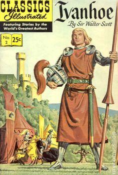 Classics Illustrated 002 Ivanhoe (1946) 24