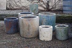Heavy Earthenware Mossy Pot | Online Garden Store