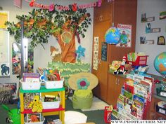 Reading Corner/Classroom Library...Explore Your World...Read!