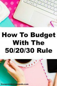 Find a budgeting strategy that works well for you. The 50/20/30 Budget Rule is an awesome way to divide up the income in your budget. Check out these budgeting tips from The Extra Income Project. He shares his journey of getting out of debt and paving the way to financial freedom through smart money management and passive income building.