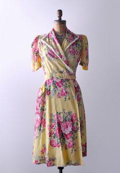 1940's Yellow