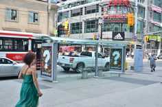 Transit Shelter - Legoland Discovery Center Toronto - #BrickByBrick #OOH #Advertising #BusStop