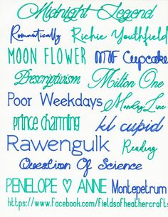 Fields Of Heather: FREE Single Line Fonts That Will Write without bubbling In Cricut Design Space- Writing Styles Fonts, Writing Fonts, Cool Writing Styles, Fancy Pens, Cricut Fonts, Free Fonts For Cricut, Cricut Tutorials, Cricut Ideas, Cricut Cuttlebug