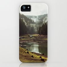 Foggy Forest Creek iPhone & iPod Case by Kevin Russ - $35.00