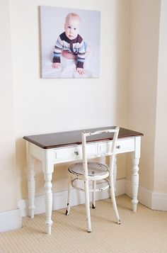 a thousand words: Shabby chic desk