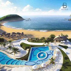 Huatulco, Mexico Hotel: Secrets Huatulco Resort & Spa Via: @turismodelbueno Tag your best hotel photos #BeautifulHotels