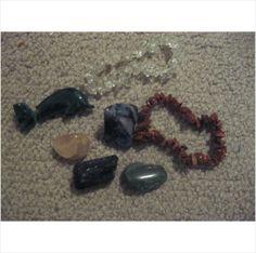 Crystal Set: Bracelets, Dolphins, Stones Rose Quartz, Quartz, on eBid United Kingdom