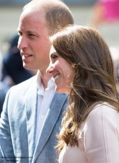 Prince William, Duke of Cambridge and Catherine, Duchess of Cambridge meet the public as they visit Truro Cathedral on September 1, 2016 in Truro, United Kingdom.