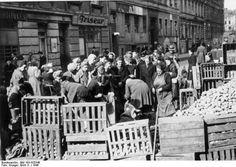1946-Verteilung der Winterkartoffeln.