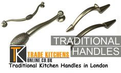 It is worth denying the fact that the traditional kitchen handles in London are looked upon as most well-accepted choice. The trimmings and carvings featuring in these handles demand true focus.