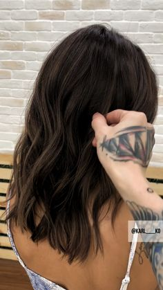 Espresso Base with Hazel Ribbons - 60 Chocolate Brown Hair Color Ideas for Brunettes - The Trending Hairstyle Brown Hair With Highlights, Brown Blonde Hair, Brown Hair Colors, Brunette Hair, Dark Hair, Medium Dark Brown Hair, Hair Colour, Balayage Bronde, Grunge Hair