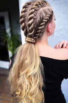 30 Braids Hairstyles 2020 for Ultra Stylish Looks - Haircuts & Hairstyles 2020 #braidsforlonghair