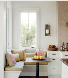 Kitchen nook - Ultimate space-saver version.