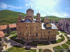 The Manasija (Resava) Мonaster Serbia Travel, Late Middle Ages, Fortification, Historical Architecture, Serbian, 15th Century, Land Scape, Barcelona Cathedral, Mansions