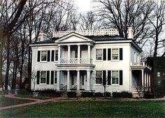 Henry S. Lane Antebellum Mansion, Crawfordsville, Indiana