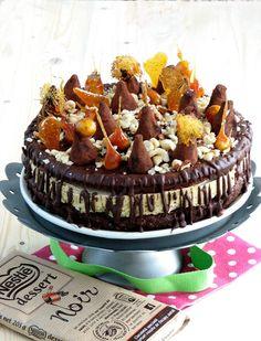 .: Tort pralinat cu trufe My Recipes, Cake, Desserts, Tailgate Desserts, Deserts, Kuchen, Postres, Dessert, Torte