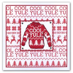 Cool Yule Christmas Jumper
