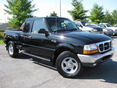 2000 Ford Ranger 2 Dr XLT 4WD Extended Cab Stepside SB