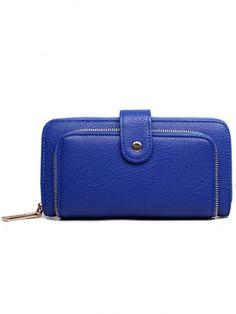 Zip Around Wallet, Fashion, Moda, Fashion Styles, Fashion Illustrations