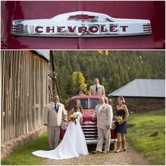 Yellow Pines Wedding | Red Chevy