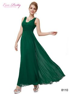 ce67b28cda4 Deep v-neck long evening dress Padded enough for