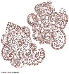 Tatouage: Dessin henna_8