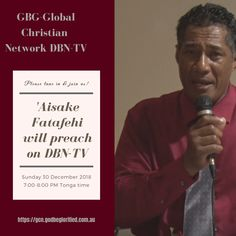 GBGGCN DBN-TV Sunday 30 December 2018 – 'Aisake Fatafehi – FB Ad