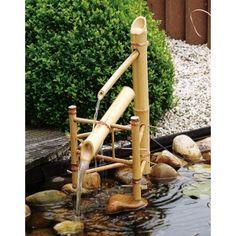 Bamboe waterornament | Tuin-arena.nl