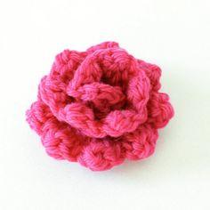 Rose Crochet Pattern