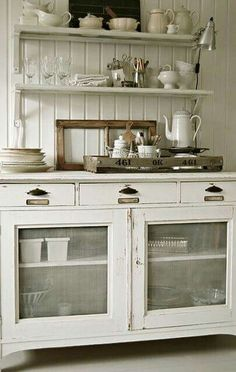 Customize the cabinetry,  get creative!