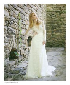 Wedding dress by Carolina Herrera, vintage earrings from House of Lavande. Featured in the Fall 2014 issue of Weddings Unveiled. Photographed at The Mill at Fine Creek in Powhatan, VA.