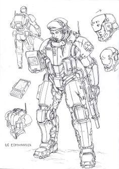UC commander F1 by TugoDoomER