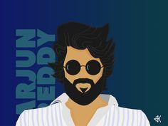 Arjun Reddy Poster designed by Arunvignesh.
