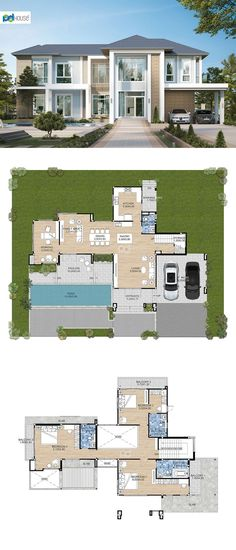 House Plans, Floor Plans, Layout, House Design, Mansions, How To Plan, House Styles, Home Decor, Beach Houses