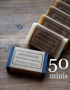 50 Mini Soap Favors  Bridal & Baby Shower Favors by AnitasLaLaLand