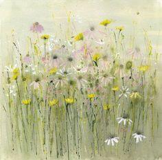 Wild flower meadow- beautiful art from Sue Fenlon