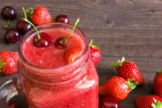 Strawberry Blueberry Smoothie, Lemon Smoothie, Strawberry Smoothie, Citrus Recipes, Punch Recipes, Tea Recipes, Kid Friendly Smoothies, Cookout Food, Blender Recipes