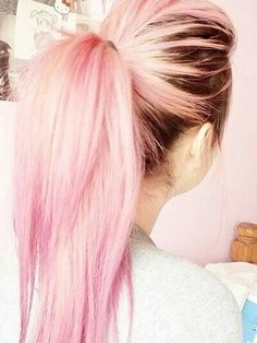 Brown to Pink #Hairstyles/Colors