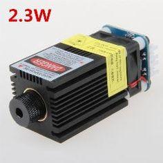[ 18% OFF ] Engraving Machine 2300Mw Laser Module Adjustable Focus Industrial Use 445Nm 2.3W Ttl Pwm Control
