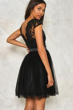 Tulle Intentions Lace Dress