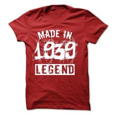 Made in 1939 legend year TN001 - #gift for dad #bridal gift. BUY NOW => https://www.sunfrog.com/LifeStyle/Made-in-1939-legend-year-TN001.html?68278