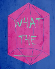 what the _______ Art Print by AGRIMONY // Aaron Thong | Society6