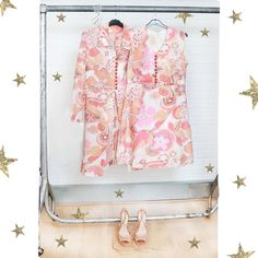 So #Chloe  shoot prepping for tomorrow!!! Watch out for lots of fresh new stock dropping this weekend  #peekaboo #vintage #asosmarketplace #asosmarketplaceboutiques #love #fashion #style #floral #pink #set #coord #summer #shoot #peekaboovintage # Peekaboovintage.com