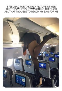 But I had to capture this beautiful moment! - Humor Photo - Humor images - But I had to capture this beautiful moment! The post But I had to capture this beautiful moment! appeared first on Gag Dad. Flight Attendant Hot, Vrod Harley, Flight Girls, Sexy Legs And Heels, Black Pantyhose, Great Legs, Cabin Crew, Sexy Stockings, Beautiful Legs