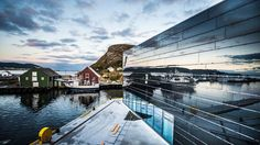 Meyer reinforces Norway's Fosnavag Cultural Centre - 8 January 2015 - Daily Online News - LSi Online Cultural Center, Arts And Entertainment, Norway, Centre, Coast, Cinema, Building, Places, January