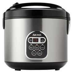 Aroma Digital Rice Cooker  Stainless Steel 20 cups ** Read more reviews of the product by visiting the link on the image. (This is an affiliate link)
